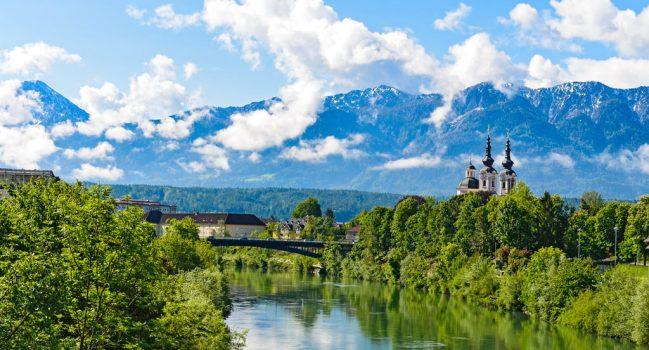 Städte und Seen in Österreich, Slowenien und Ungarn