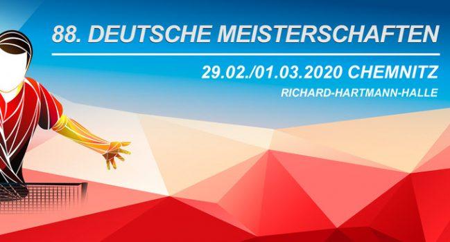Deutsche Meisterschaften in Chemnitz 2020